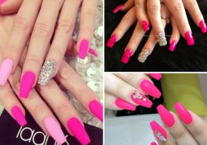 best pink nail designs  nail art designs 2018