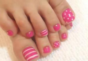 summer toe nails 2018  top 14 toe nail designs